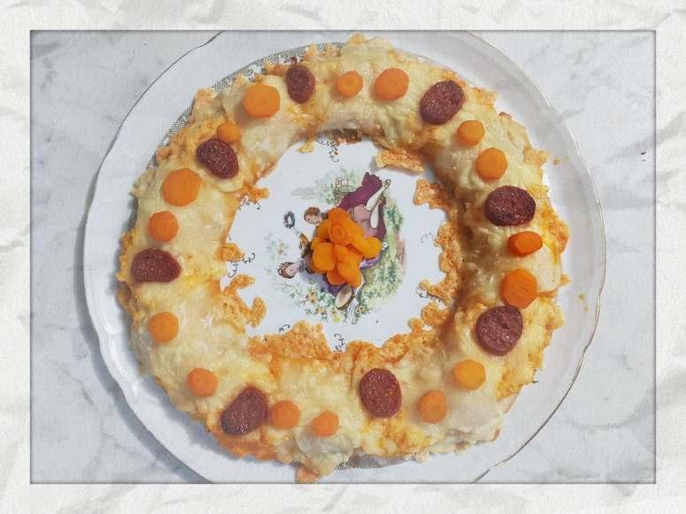 Couronne carottes chorizo